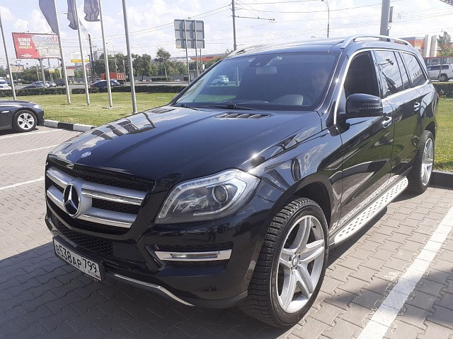MERCEDES BENZ GL500